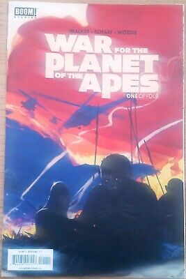 Boom! Studios War For The Planet Of The Apes One Of Four Comic Book