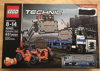 RETIRED SET By LEGO Technic 40th Ann. Brick Container Yard Factory Sealed 42062