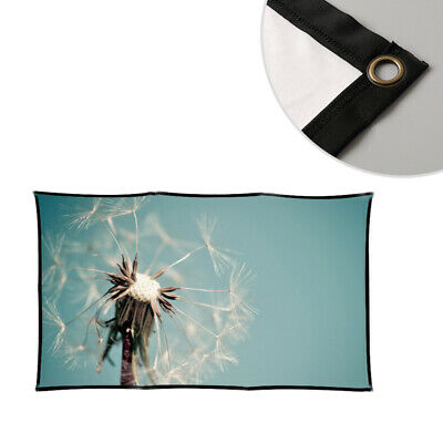 1PCS Projection Soft Curtain Thickening Bleachable Milk Silk Traceless Screen