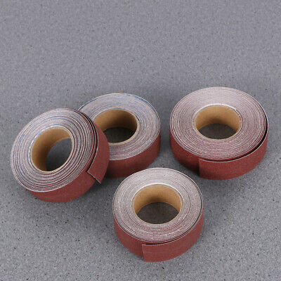 Abrasive Rolls Drawable Durable Sanding Paper Emery Cloth Rolls for Wood Turners