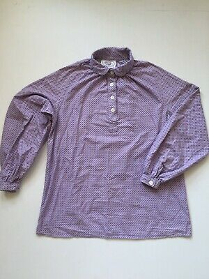 Vintage Laura Ashley Made in Wales 1970's Size UK S - Smock Style Blouse