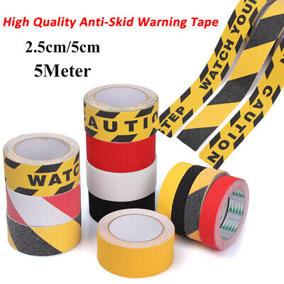 Hazard Warning Strips Danger Caution Sticker Barrier Remind Marking Tape
