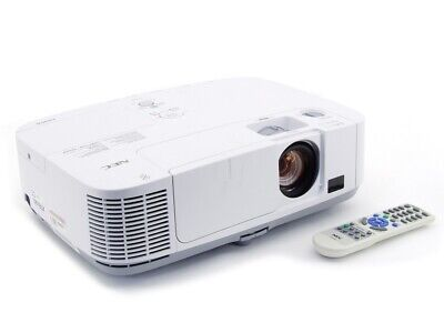 NEC NP-UM330W 3300 ANSI Lumens 3000:1 1280x800 Short Throw Projector 3250 Hours