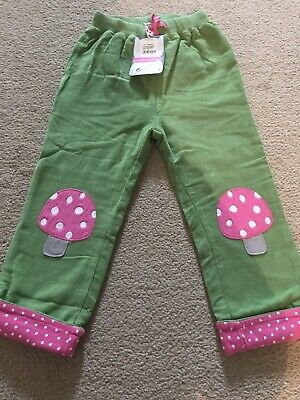 Frugi Toasdstool Lined Trousers, 3-4 years BNWT