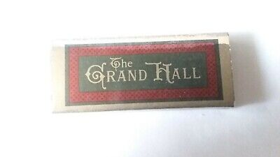 The Grand Hall Hyatt Regency St. Louis Missouri Union Station Matchbook Struck