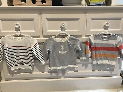 Pure baby Knit Jumpers 6-12 Months