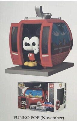 Funko Pop Ride Skyliner Disney Parks Exclusive Mickey Mouse PRE SALE 11/2019