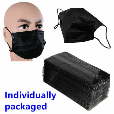 Disposable Medical Mouth Face Mask Dust proof Respirator Individually Packaging
