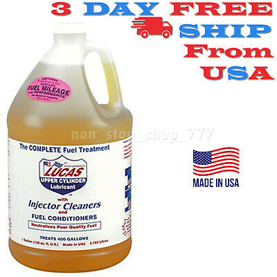 Lucas Luc10013 1 Gallon 128 Oz Treatment Cleans And Lubricates Fuel System