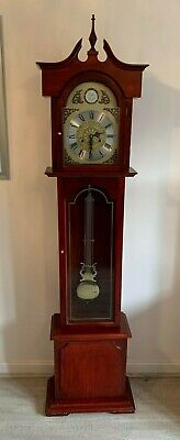 Grandfather clock - Antique C Wood & Son Tempus Fugit