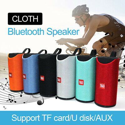 Portable Wireless Bluetooth Speaker Rechargable Stereo Bass USB/TF/AUX MP3 Gift