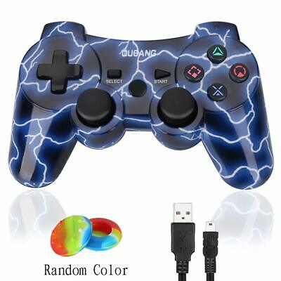 PS3 Controller Bluetooth Wireless Dualshock 3 Sixaxis Remote Gamepad Heavy Duty
