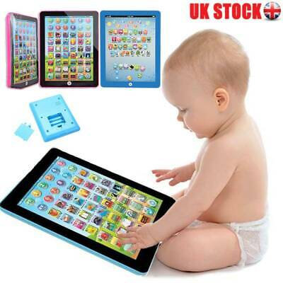 Baby Tablet Educational Toys Girls Toy For 1 2 Year Old Toddler Learning English