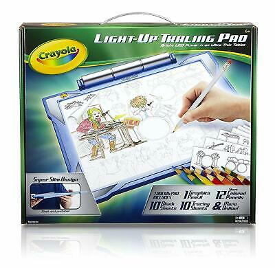 Crayola Light-Up Tracing Pad Drawing Board Blue