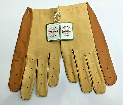 Vintage Pittards Mens Washable Leather Gloves Unworn With Original Tag Size 9.5