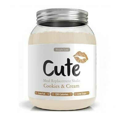Cute Nutrition - Cookies and Cream Meal Replacement - BUY 1 GET 1 FREE !