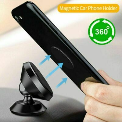 Smart Phone Holder Dashboard Universal 360° Rotation In Car Dash Magnetic H4R2S