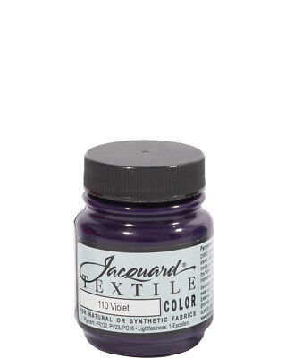Violet Textile Paint One Size