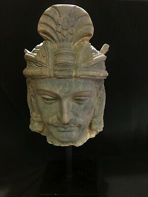 Lovely Authentic 5th Century A.D. Gandhara 犍陀罗 Bodhisattava Buddha Head
