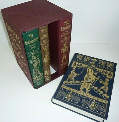Folio Society Empires of the Ancient Near East 4 hardcover SET Lot Persians