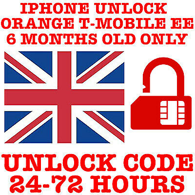 iPhone XS MAX XR X 8 8+ 7 7+ 6 6+ 6S 6s+ 5S 5 5C PLUS EE UK UNLOCK CODE SERVICE