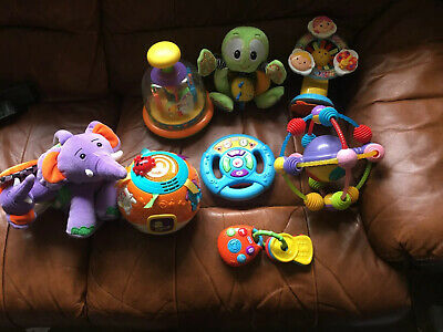 Baby Crawling Toy Bundle V-tech Little Tikes Table Toy