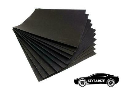 STYLARIZE® 5x Sheets High Quality 80 Grit Waterproof Wet Dry Sandpaper