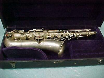 Antique Conn/Pan American Stencil C Melody Saxophone, in Playing Condition