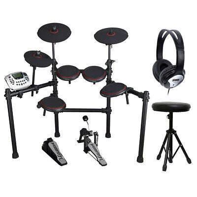 Electric Drum Kit with Accessories Carlsbro 458 High Quality Percussion Voices