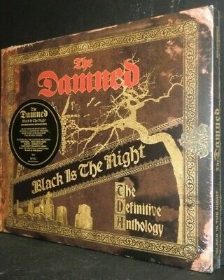 The Damned - Black Is Night:The Definitive Anthology [CD] - FREE SHIPPING