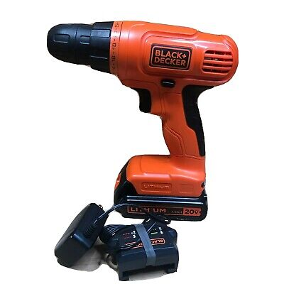 Black & Decker LD120 20v Drill/Driver with Battery and charger
