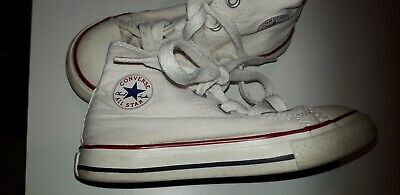 2converse all star bianche bimbo