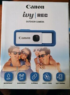 NIB Canon IVY REC: Clippable Outdoor Camera In Riptide Blue