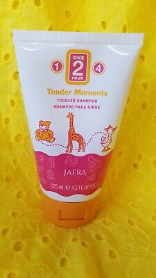New and Fresh Jafra Tender Moments 1-2-4 Toddler Shampoo 4.2 FL.OZ