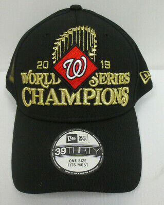 Washington Nationals Hat Cap 2019 World Series Champions Mlb New Era 39Thirty