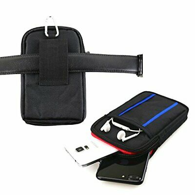 Dual Phone Case for Two Phones, Belt Loop Cell Phone Holder Mobile Carrying