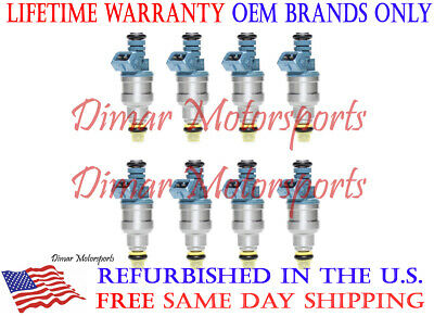 BOSCH III UPGRADE FUEL INJECTOR SET 4-HOLE NOZZLE 88-91 FORD 7.5 8