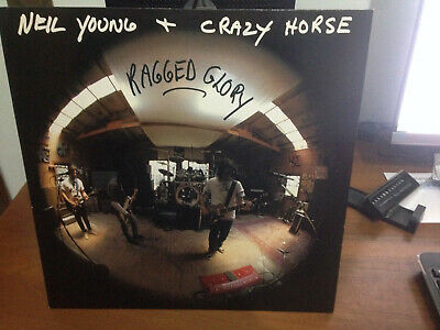 Neil Young + Crazy Horse ‎– Ragged Glory- Vinyl, LP-1990