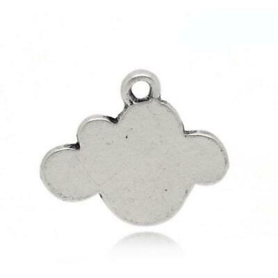 Spoon Charm//Pendant Tibetan Antique Silver 60mm  5 Charms Accessory Jewellery