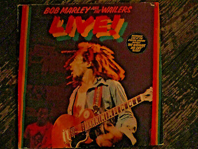Bob Marley and the Wailers - Live! vinyl LP live at the Lyceum 1975