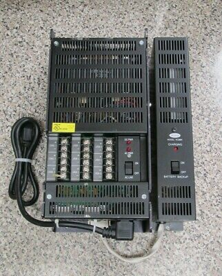 Rauland-Borg NCPWR NCBBK Responder IV Power Supply w/ Battery Backup Used