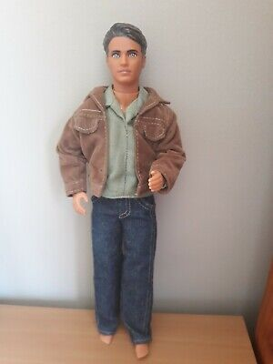 * BEVERLY HILLS 90210 * Brandon Walsh / Jason Priestley Mattel Doll 1991
