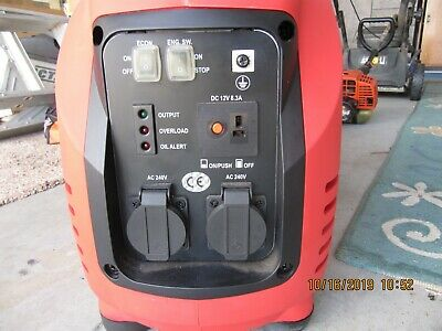 3.5KW gentrax portable generator  as new $350  SOLD