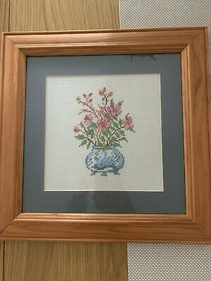 Assorted Completed Cross Stitch Designs