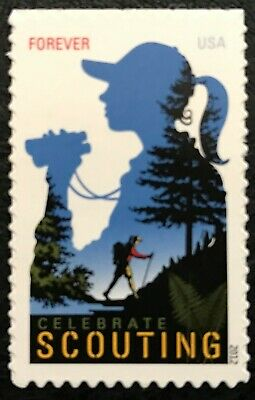 2012 Scott #4691 Forever - CELEBRATE GIRL SCOUTING - Single Stamp - Mint NH