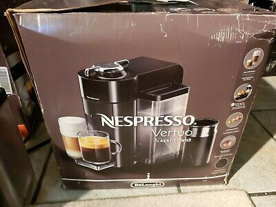 Delonghi Nespresso Vertuo Coffee And Espresso Machine - Black CRACKED