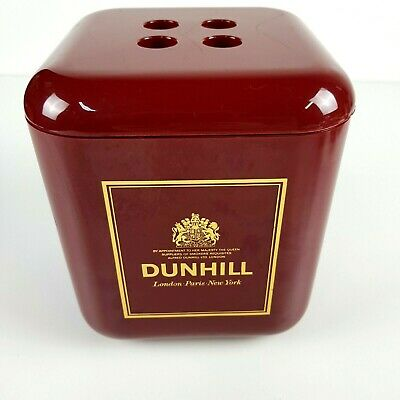 Vintage Retro RARE DUNHILL Cube Ice Bucket (R2S Monza) Collectible Mancave