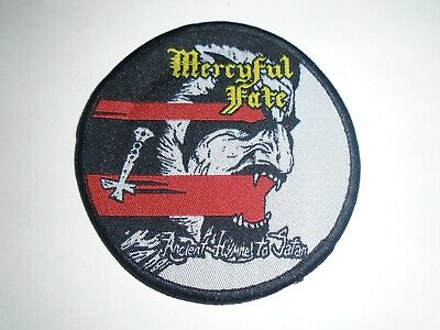 Mercyful Fate Ancient Hymns To Satan Woven Patch