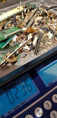 GOLD RECOVERY SCRAP OLD COMPUTER and TV pins