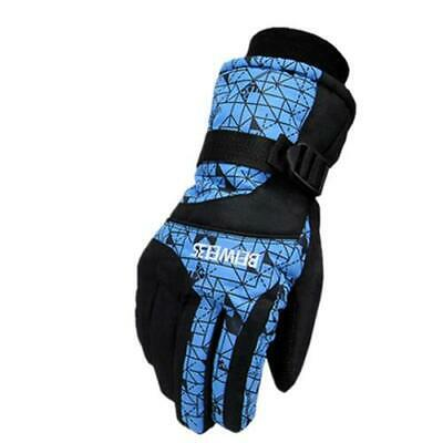 Men Women Winter Warm Ski Glove Snowboard Sport Motorcycle Gloves Anti-slip USA